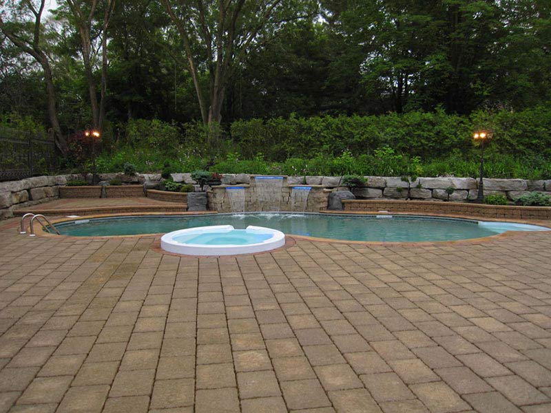 Pools water features our work toronto landscape design for Landscape design toronto