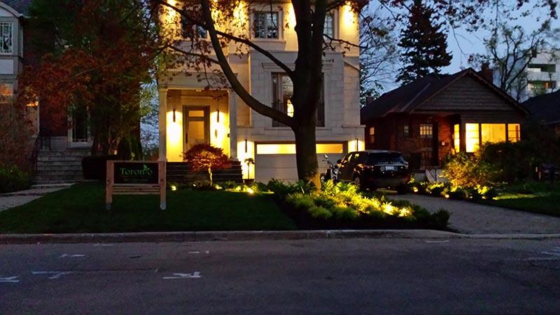 Landscape Lighting Our Work Toronto Design